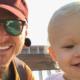 Logan Acton and daughter Alma