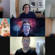 Zoom Screengrab of Terentia team